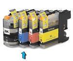 Inkoust LC-123C kompatibilní s Brother LC-123C, azurový, 10 ml !!