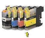Inkoust LC-123Y kompatibilní s Brother LC-123Y, žlutý, 10 ml !!