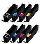 ** Sada 8 inkoustů PGI-570BK XL + CLI-571C,M,Y XL se slevou 13 % !!