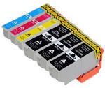 ** Sada 6 inkoustů T3351, T3362,3,4 / 33XL do Epson se slevou 12 % !!