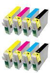 ** Sada 8 inkoustů T1281,2,3,4 CMYK do tiskáren Epson se slevou 20 % !!