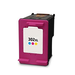 Inkoust HP 302XL / F6U67AE kompatibilní, barevný, 21 ml !! --- 2,6 x více inkoustu