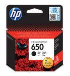 Inkoust HP 650 / CZ101AE originální, černý, 6,5 ml, 360 str.