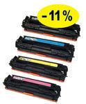 ** Sada 4 tonerů CMYK kompatibilní s Canon CRG-716 se slevou 11 % !!
