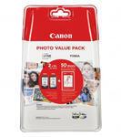 ** Inkousty Canon PG-545XL + CL-546XL + 50x fotopapír, originální