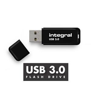 Flash disk 64 GB INTEGRAL USB 3.0, barva černá - 1