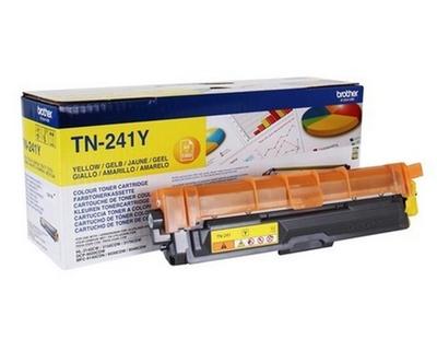 Toner Brother TN-241Y do DCP-9015, 9020 aj. originální, žlutý, 1.400 str.