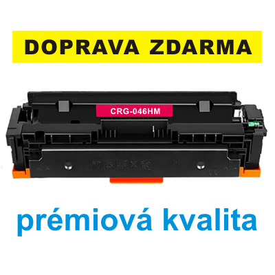 Toner Canon CRG-046HM / kompatibilní, purpurový, 5.000 str. !! - PRÉMIUM - 1
