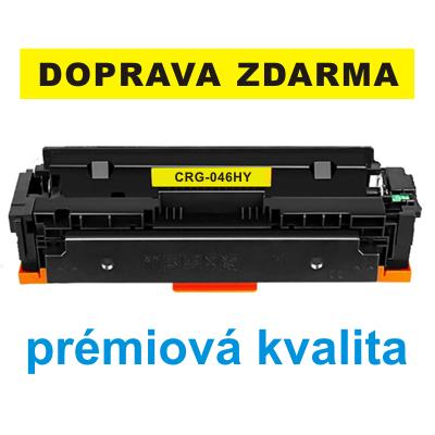 Toner Canon CRG-046HY / kompatibilní, žlutý, 5.000 str. !! - PRÉMIUM - 1