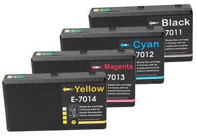 ** Sada 4 inkoustů T7011,2,3,4 XXL do Epson se slevou 10 % !!