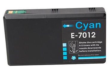 Inkoust Epson T7012 XXL kompatibilní, azurový, 36 ml !!