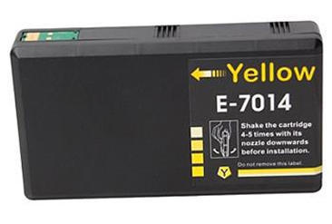 Inkoust T7014 kompatibilní s Epson T7014 XXL, žlutý, 36 ml !!