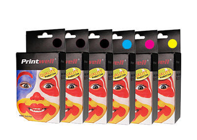 ** Sada 6 inkoustů T0551,2,3,4 do tiskáren Epson se slevou 15 % !!