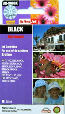 Inkoust LC-900BK kompat. s Brother LC-900BK, černý, 25 ml !!