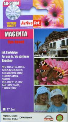 Inkoust LC-900M kompatibilní s Brother LC-900M, purpurový, 17,5 ml !!