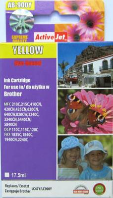 Inkoust LC-900Y kompat. s Brother LC-900Y, žlutý, 17,5 ml !!