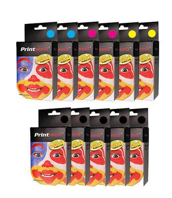 ** Sada 11 inkoustů T0551,2,3,4 do tiskáren Epson se slevou 25 % !!
