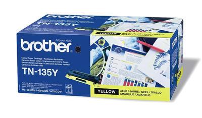Toner Brother TN-135Y do HL-4040CN originální, žlutý, 4.000 str. !!