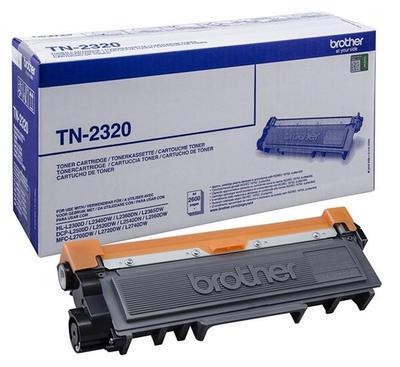 Toner Brother TN-2320 originální, černý, 2.600 str.