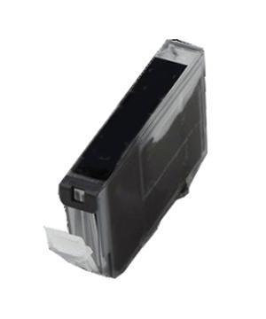 Inkoust CLI-521BK =S=ČIPEM= komp. s Canon CLI-521BK, černý, 11 ml