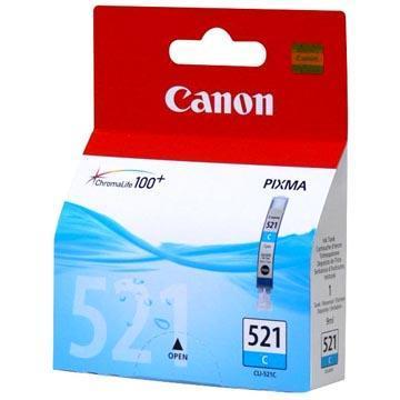 Inkoust Canon CLI-521C originální, azurový, 9 ml