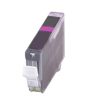 Inkoust CLI-521M =S=ČIPEM= komp. s Canon CLI-521M, purpurový, 10-11 ml