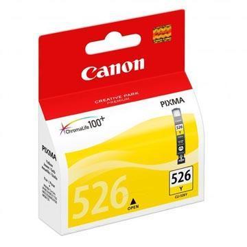 Inkoust Canon CLI-526Y originální, žlutý, 9 ml