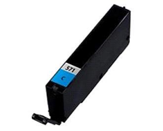 Inkoust CLI-571C XL kompat. s Canon CLI-571C XL, azurový, 13 ml !!