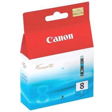 Inkoust Canon CLI-8C originální, azurový, 13 ml
