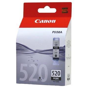 Inkoust Canon PGI-520BK originální, černý, 19 ml