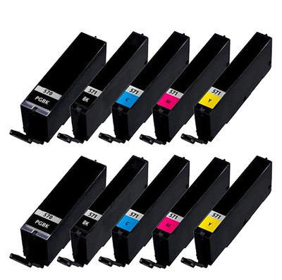 ** Sada 10 inkoustů PGI-570BK XL + CLI-571BK,C,M,Y XL se slevou 15 % !!