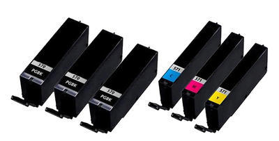 ** Sada 6 inkoustů PGI-570BK XL + CLI-571C,M,Y XL se slevou 10 % !!