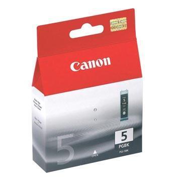 Inkoust Canon PGI-5BK originální, černý, 26 ml