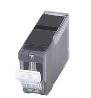 Inkoust PGI-520BK =S=ČIPEM= komp. s Canon PGI-520BK, černý, 20-21 ml