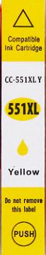 Inkoust CLI-551Y XL kompat. s Canon CLI-551Y XL, žlutý, 12 ml !!