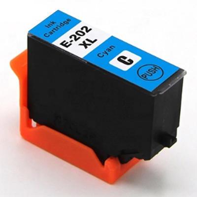 Inkoust Epson 202 XL / T02H2 kompatibilní, azurový, 13 ml !!
