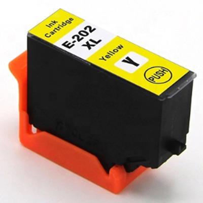 Inkoust 202XL kompatibilní s Epson T02H4 / 202XL, žlutý, 13 ml !!