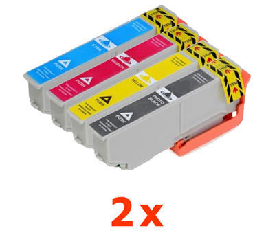 ** Sada 8 inkoustů T3361, T3362,3,4 / 33XL do Epson se slevou 14 % !!