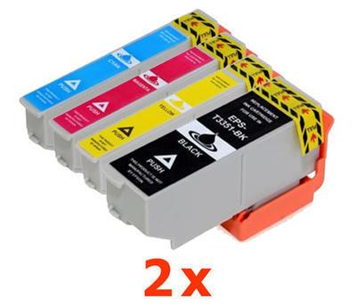 ** Sada 8 inkoustů T3351, T3362,3,4 / 33XL do Epson se slevou 14 % !!
