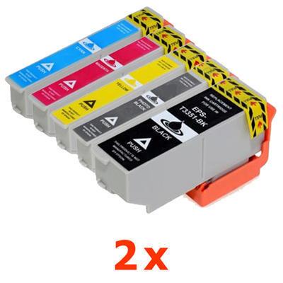 ** Sada 10 inkoustů T3351, T3361,2,3,4 / 33XL do Epson se slevou 16 % !!