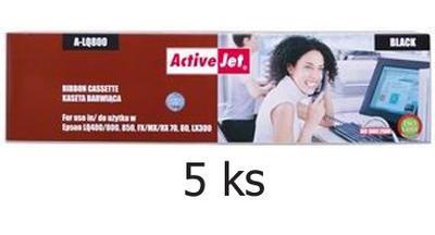 Páska do Epson LX/LQ/FX-300, 400 aj. kompatibilní, černá - 5 ks - sleva 5 %