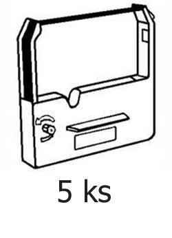 Páska do Epson ERC-30, 34, 38 kompatibilní, fialová - 5 ks - sleva 5 %