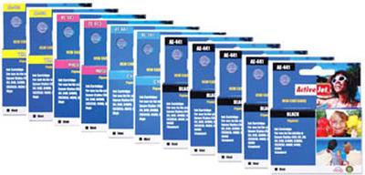 ** Sada 11 inkoustů T0441,2,3,4 do tiskáren Epson se slevou 25 % !!