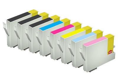 ** Sada 8 inkoustů T0481,2,3,4,5,6 do tiskáren Epson se slevou 15 % !!