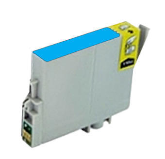 Inkoust Epson T0802 kompatibilní, azurový, 15 ml !!