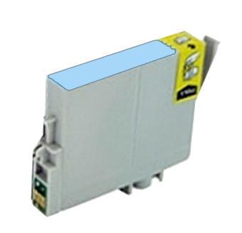 Inkoust T0805 kompatibilní s Epson T0805, světle azurový, 15 ml !!