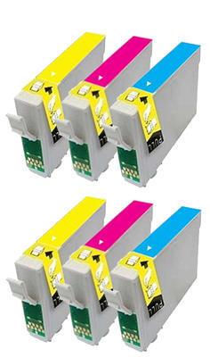 ** Sada 6 inkoustů T1292,3,4 do tiskáren Epson se slevou 15 % !!