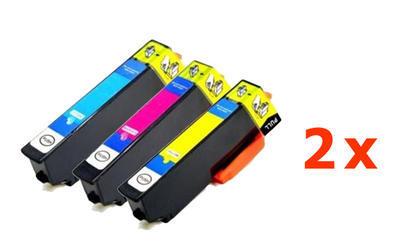 ** Sada 6 inkoustů Epson 24XL / T2432 T2433 T2434 sleva 12 % !!