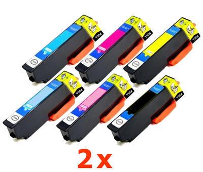 ** Sada 12 inkoustů Epson 24XL / T2431 T2432 T2433 T2434 T2435 T2436 sleva 20 % !!
