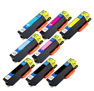 ** Sada 8 inkoustů Epson 24XL / T2431 T2432 T2433 T2434 T2435 T2436 sleva 15 % !!
